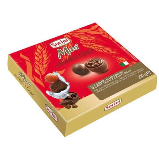 Sorini Maxi Nocciola e Cereali 200g - w mlecznej czekoladzie