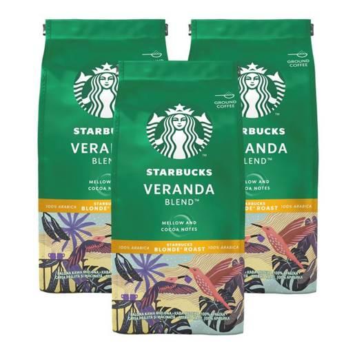 Starbucks Veranda Blend 200g kawa mielona x 3
