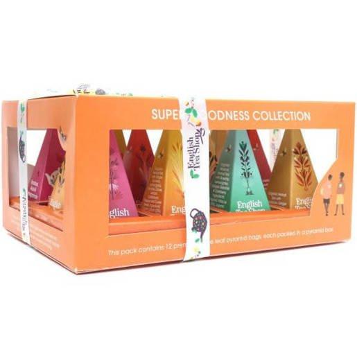 Super Goodness Collection - 12 Piramidek z herbatą