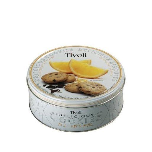 Tivoli - Dark chocolate & orange ciastka z kawałkami czekolady i pomarańczy 150g