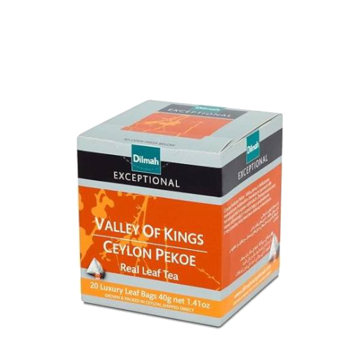 Valley of Kings Ceylon Pekoe - 20 piramidek z herbatą