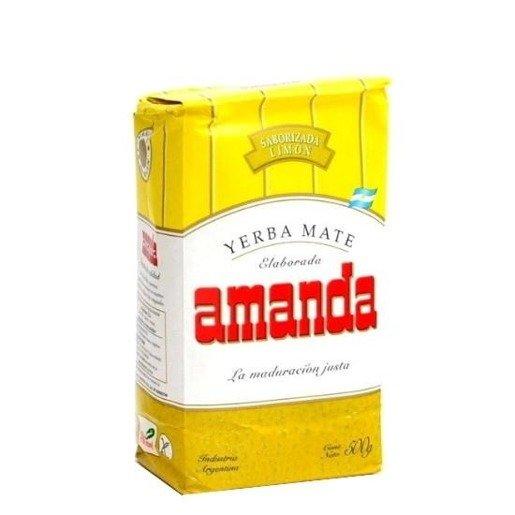 Yerba Mate Amanda Limon 500 g - cytrynowa