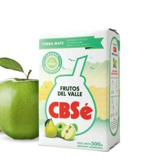 Yerba Mate CBSe Frutos Del Valle 500g - Gruszkowo - jabłkowa