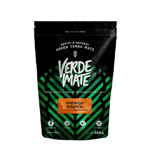 Yerba Mate Green Verde Mate Naranja Tropico 500g