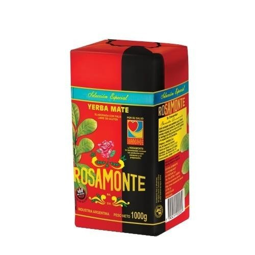 Yerba Mate Rosamonte Seleccion Especial 1kg