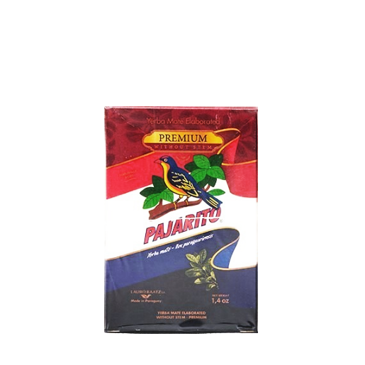 Yerba mate Pajarito Premium Despalada 40g