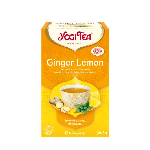 Yogi Tea Ginger Lemon 17 saszetek