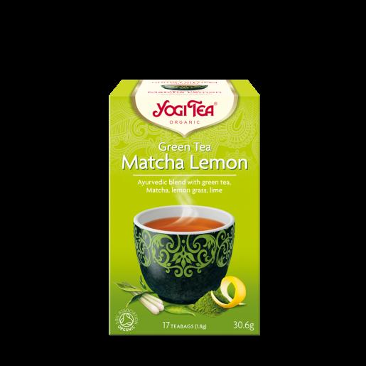Yogi Tea Green Tea Matcha Lemon 17 saszetek