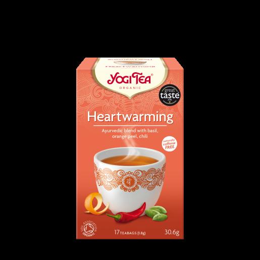 Yogi Tea - Heartwarming 17 saszetek, rozgrzewająca