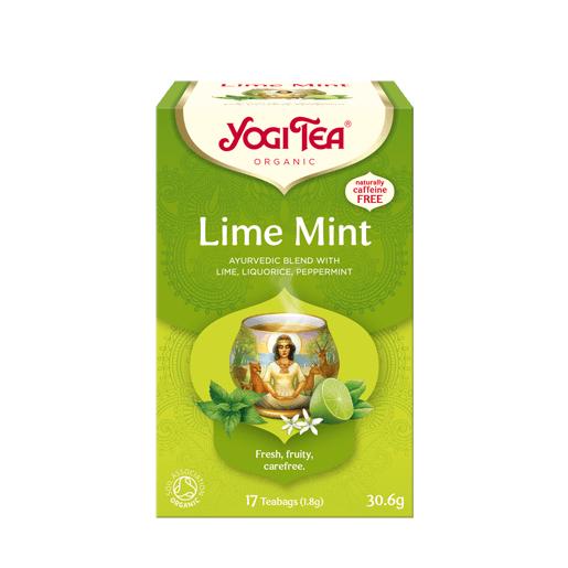 Yogi Tea Lime Mint 17 saszetek - limonka z miętą