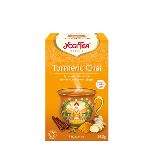Yogi Tea Turmeric Chai 17 saszetek