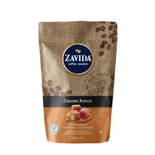 Zavida Caramel Royale 340g - kawa ziarnista