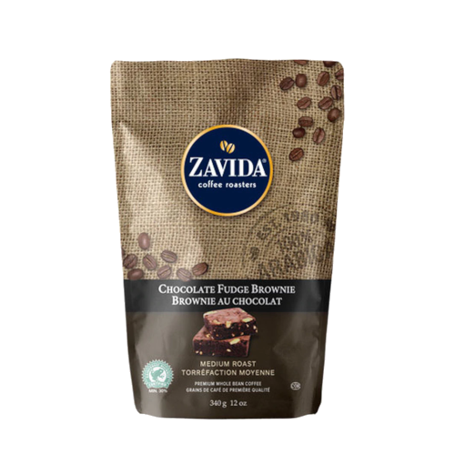 Zavida Chocolate Fudge Brownie 340g kawa ziarnista