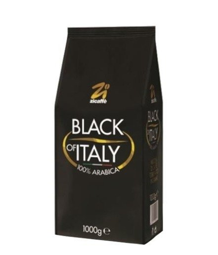 Zicaffe Black of Italy 1 kg kawa ziarnista