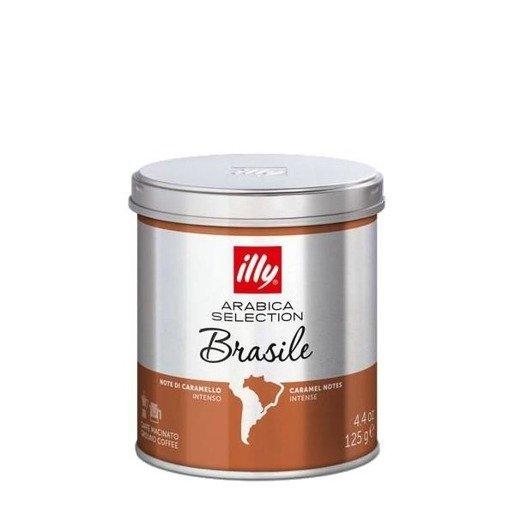 illy monoarabica Brasile 125g kawa mielona
